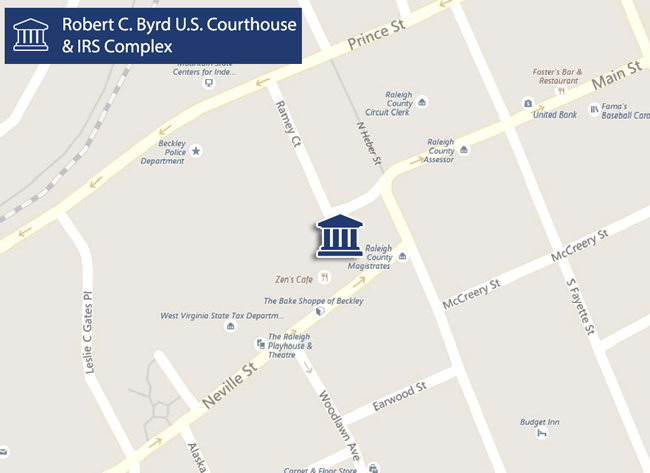 Directions To The United States District Courthouse Beckley